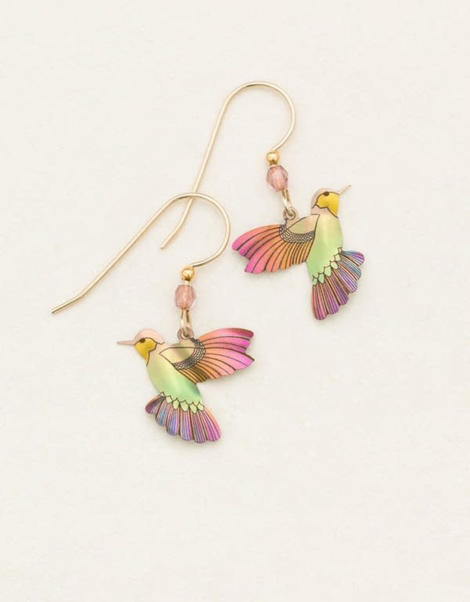 Holly Yashi HY Living Coral Picaflor Earrings
