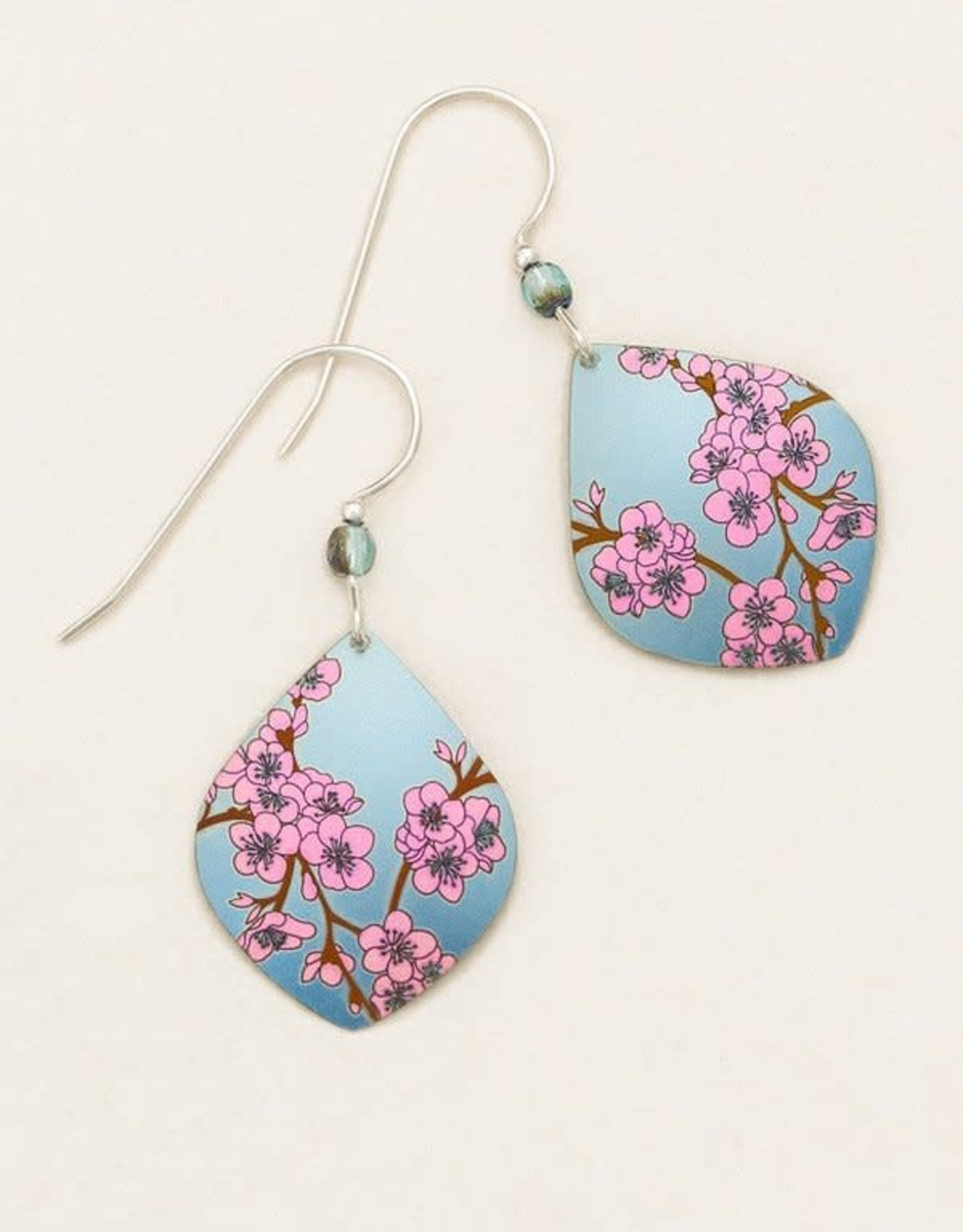 Holly Yashi Light Blue Spring in Bloom Earrings