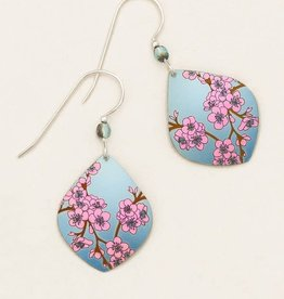 Holly Yashi Light Blue Spring in Bloom Earrings
