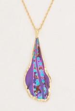 Holly Yashi Purple Wavelength Necklace