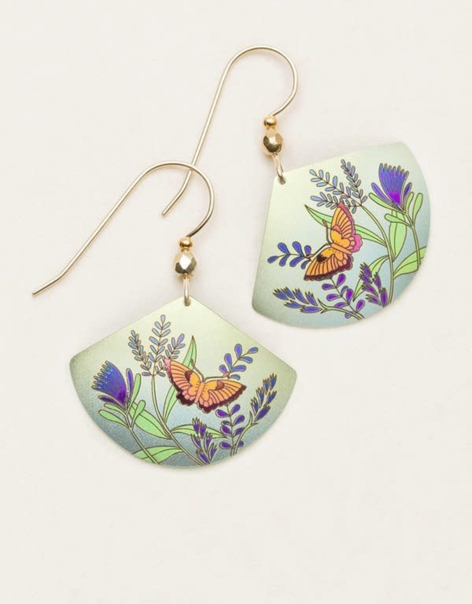 Holly Yashi Sage Garden Whimsy Earrings