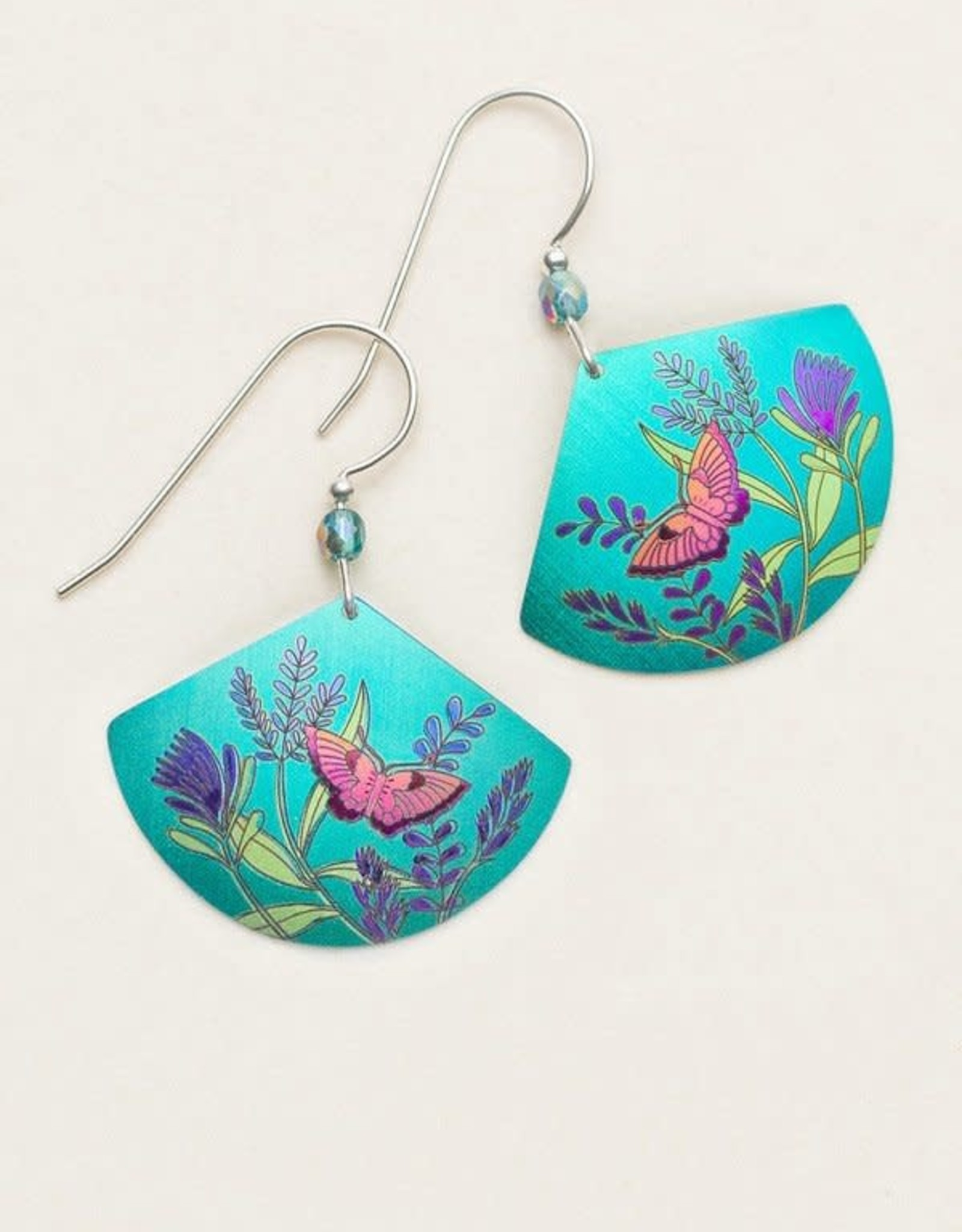 Holly Yashi Teal Green Whimsy Earrings