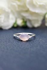 Tashi Pink Chalcedony Ring