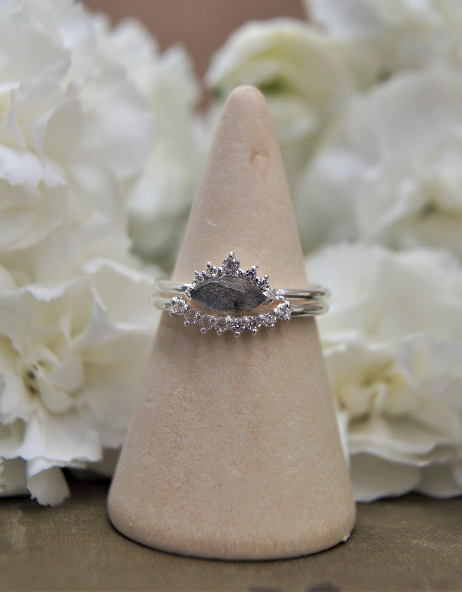 Tashi Marquis Labradorite Ring