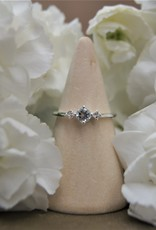 Tashi Aquamarine & White Topaz Ring