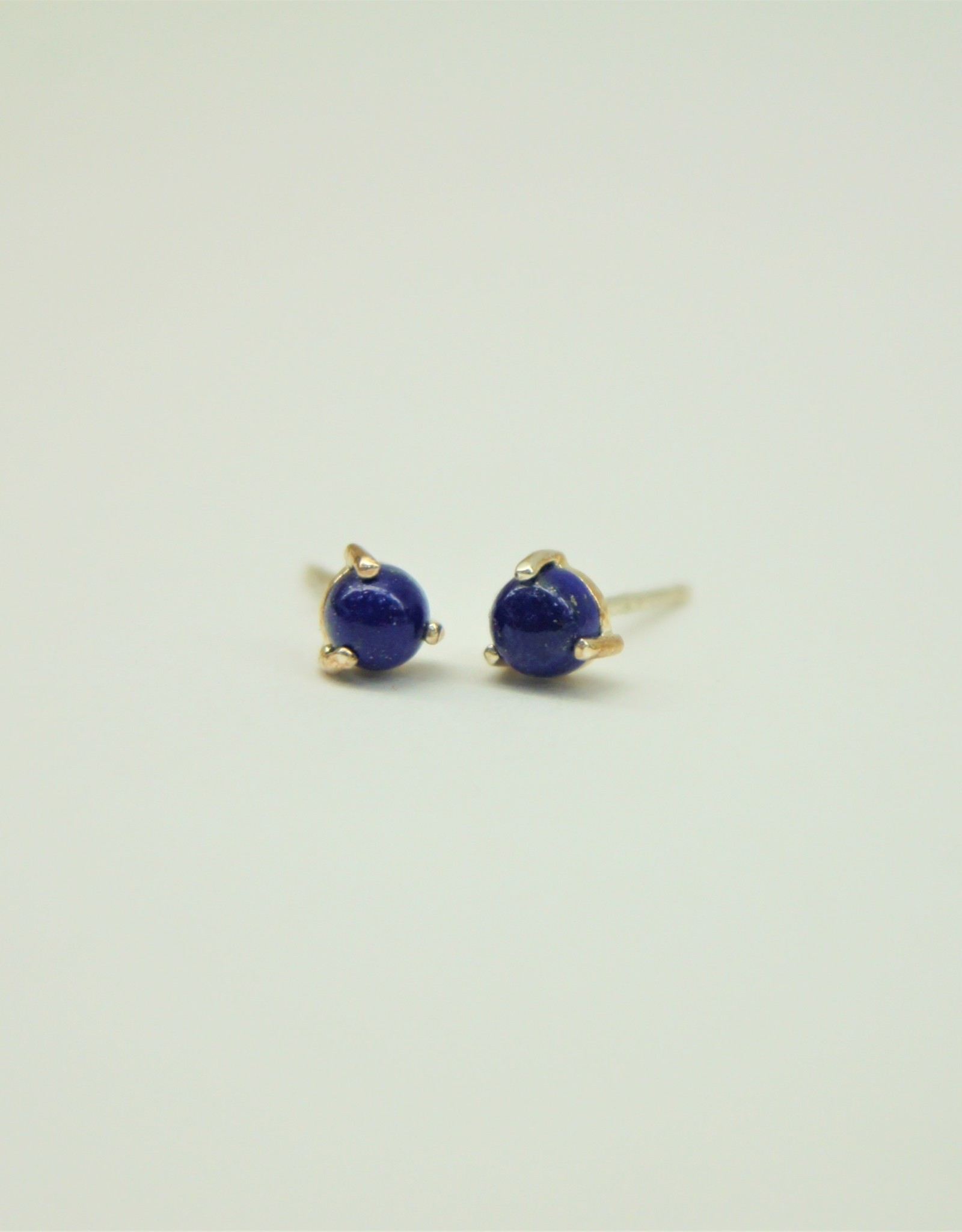 Tashi Lapis Lazuli Stud Earrings