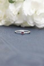 Tashi Rhodolite Garnet Stacking Ring