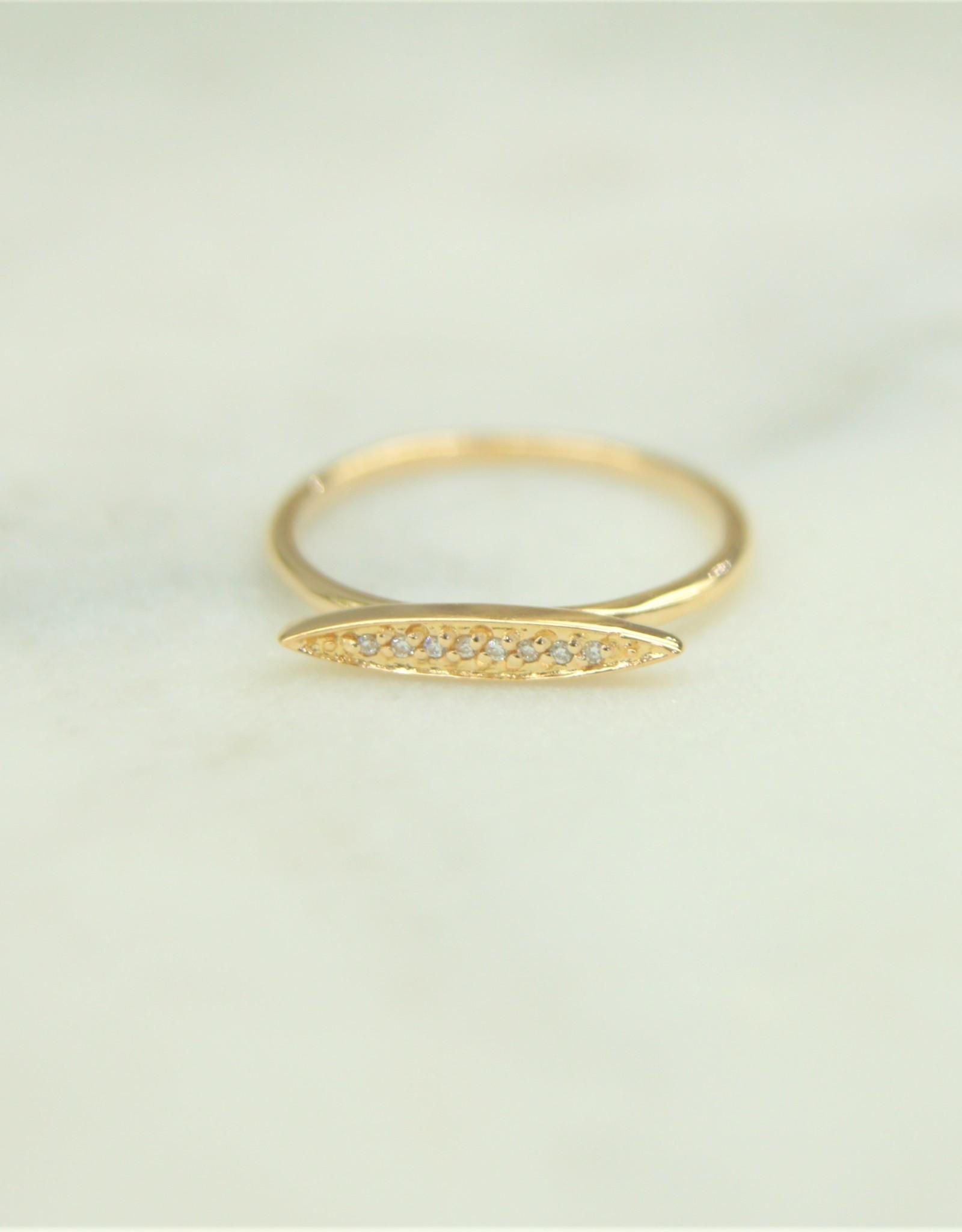 Tashi Marquise Ring