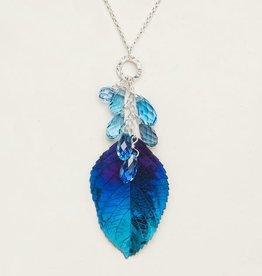 Holly Yashi Navy Cascading Elm Necklace