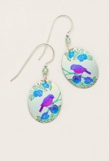 Holly Yashi Light Blue Birdsong Earrings