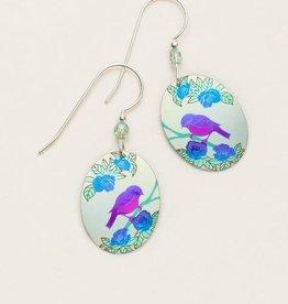 Holly Yashi Light Blue Birdsong Earrings
