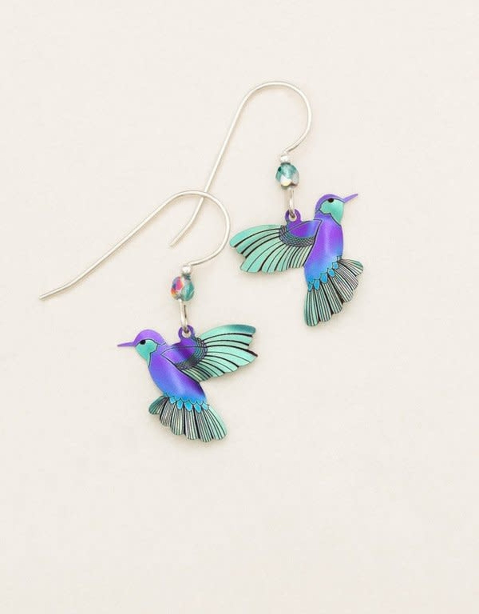 Holly Yashi Ultra Violet Picaflor Earrings
