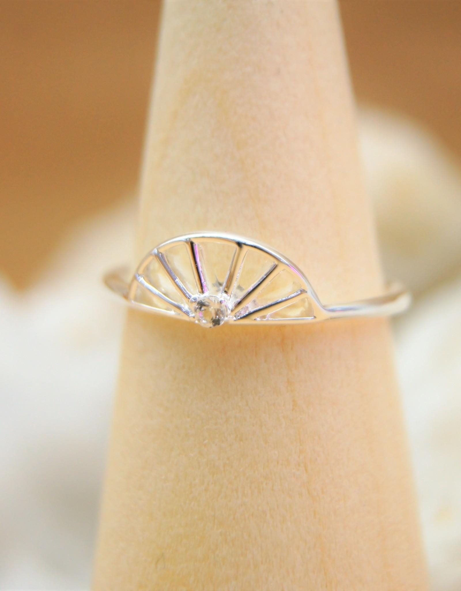 Tashi Sun with Stone Ring
