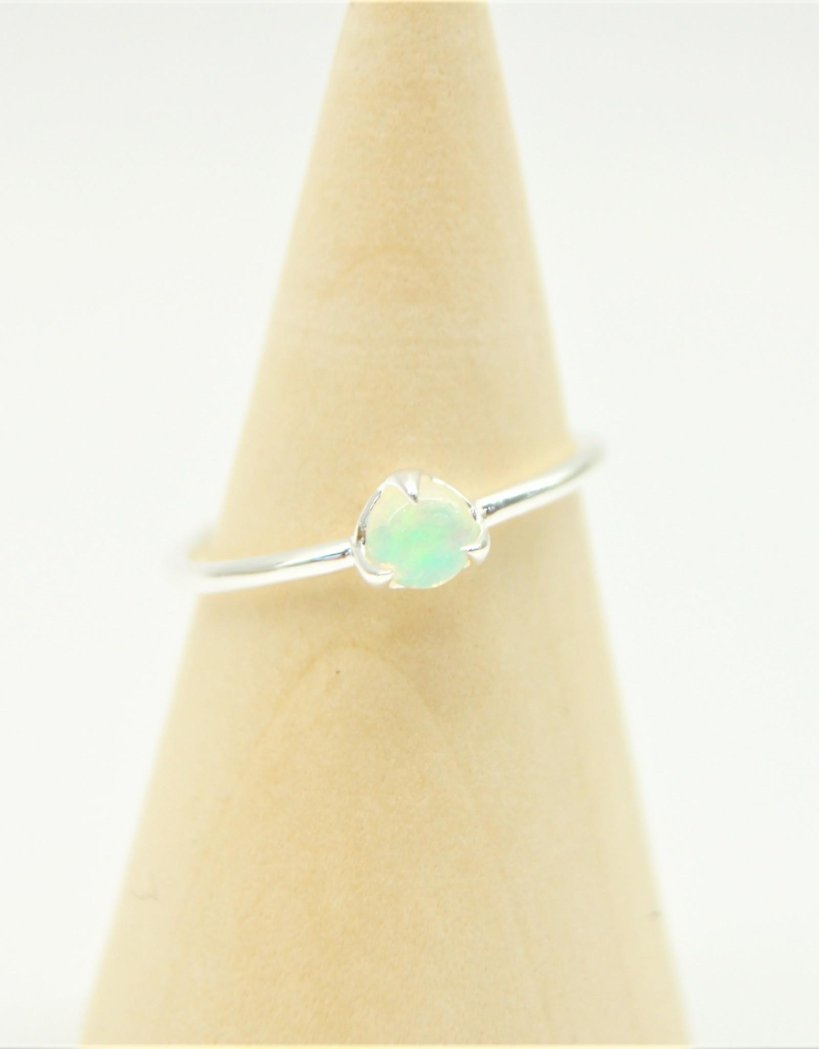 Tashi Prong-Set Opal Ring