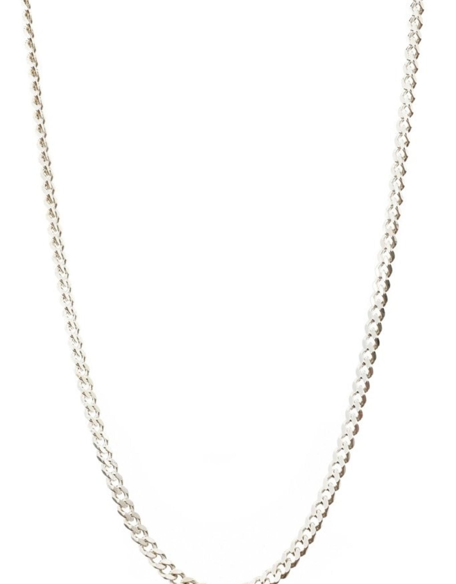 Lisbeth Ellison Chain - Sterling Silver Curb Chain