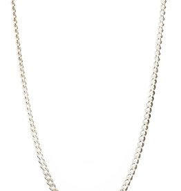Lisbeth Ellison Chain - Sterling Silver Curb Chain