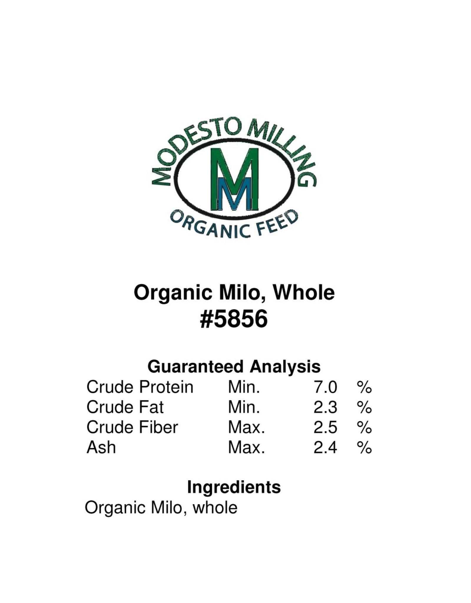 Modesto Milling Whole Milo