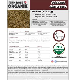 Pink Rose Organix Pink Rose Cattle Grower Feed Pellet