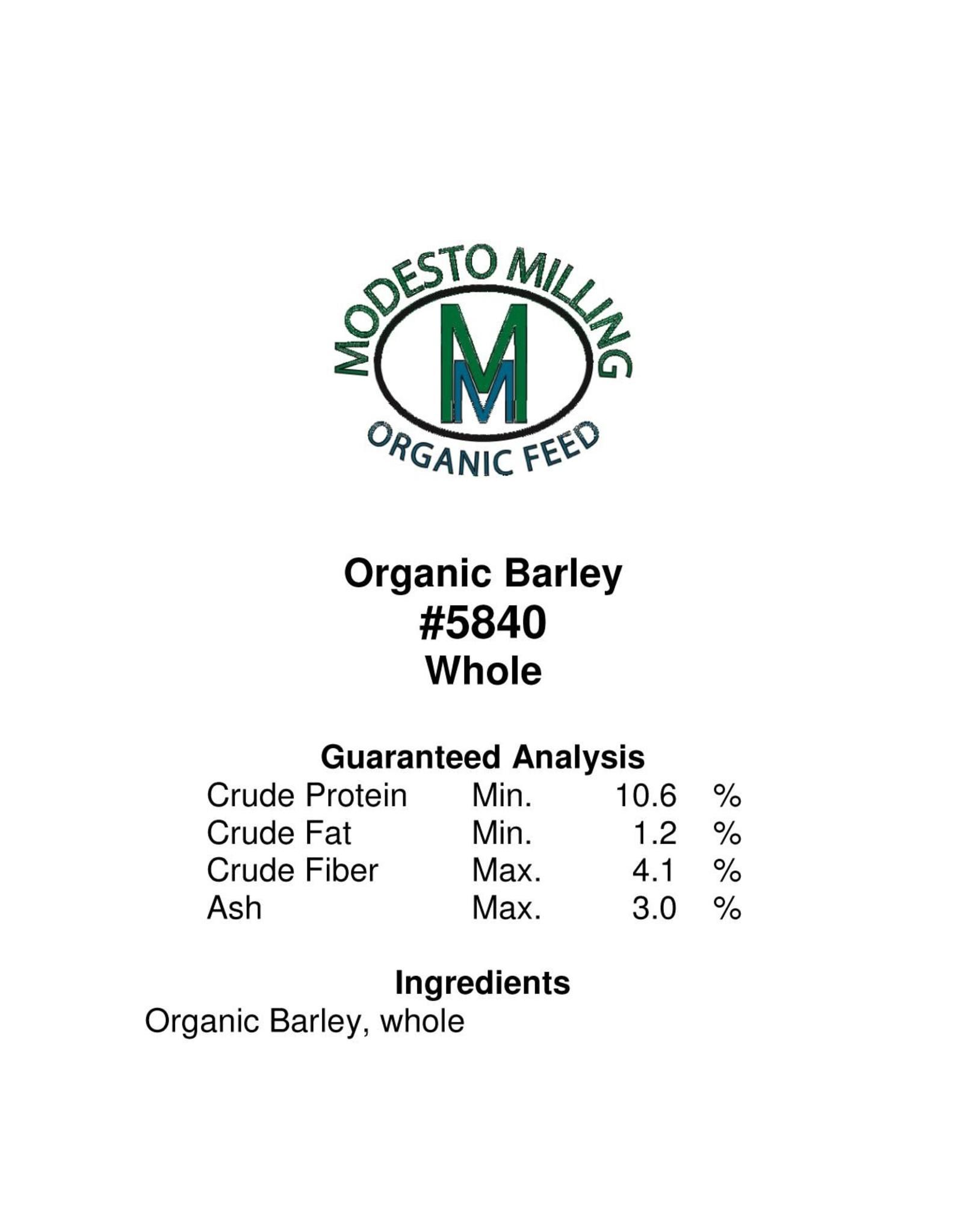 Modesto Milling Whole Barley