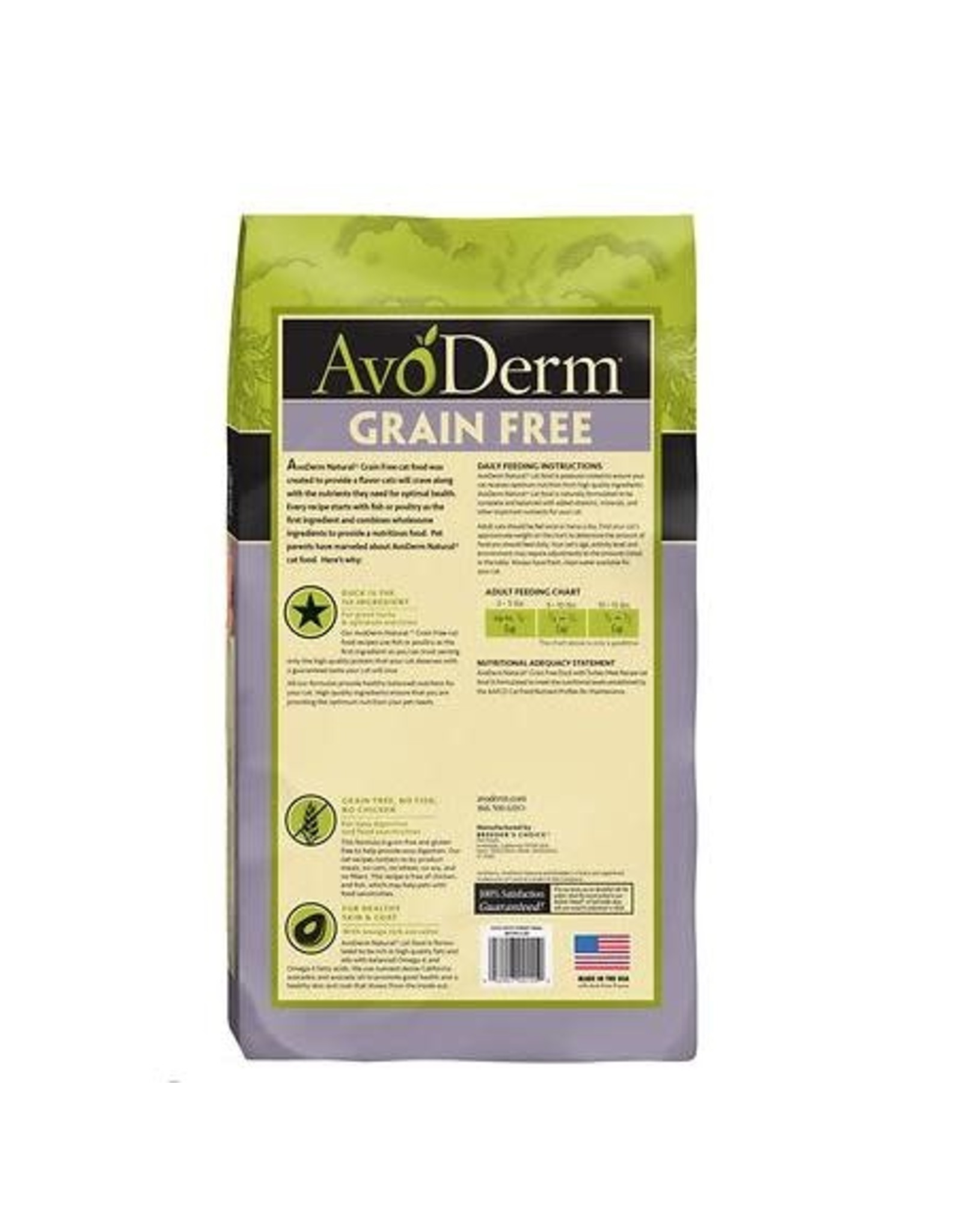 AvoDerm Grain Free Dry Cat Food