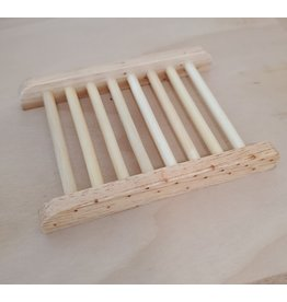 Inspire Farms Blonde Wood Soap Dish