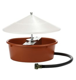 Little Giant Little Giant Auto Poultry Waterer with Cover