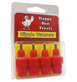Happy Hen Happy Hen Nipple Waterers 4pk