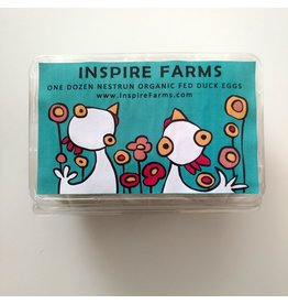 Inspire Farms Inspire Farms Organic Soy/Corn Free Fed Duck Eggs