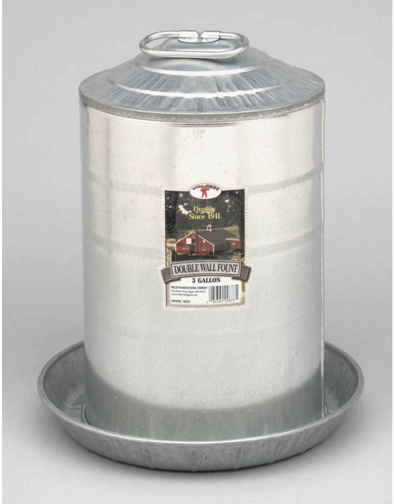 Little Giant Double Wall Galvanized Waterers