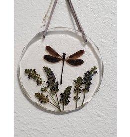 Christina Martin Art Resin Art Dragonfly Sun Catcher