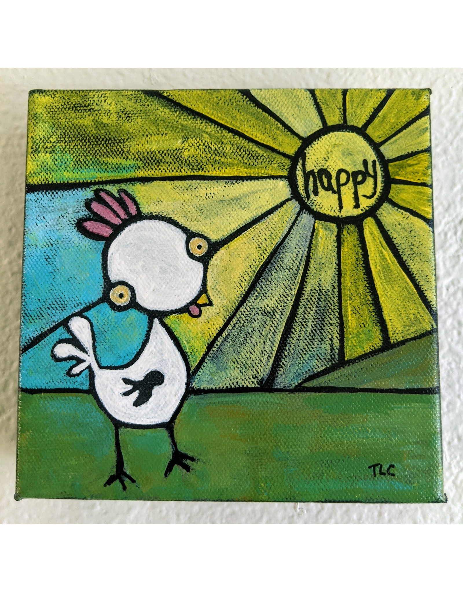 Inspire Farms Inspire Farms Original Art - Happy Guy