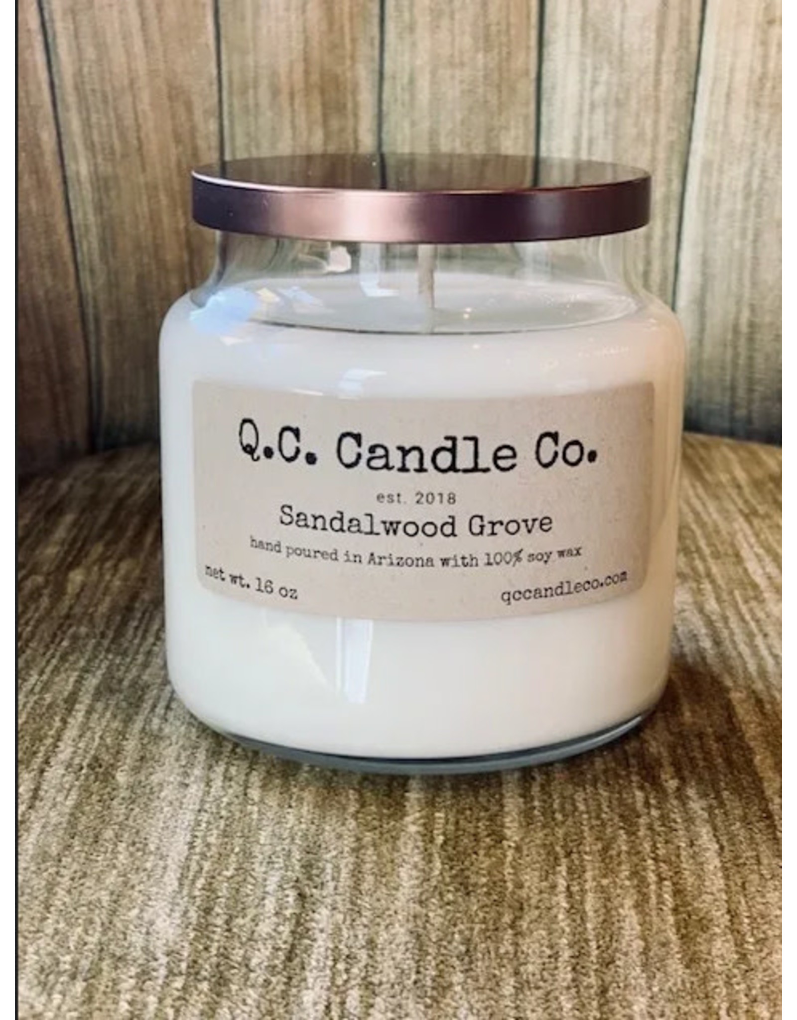 Q. C. Candle Co. Q. C Candle Co.