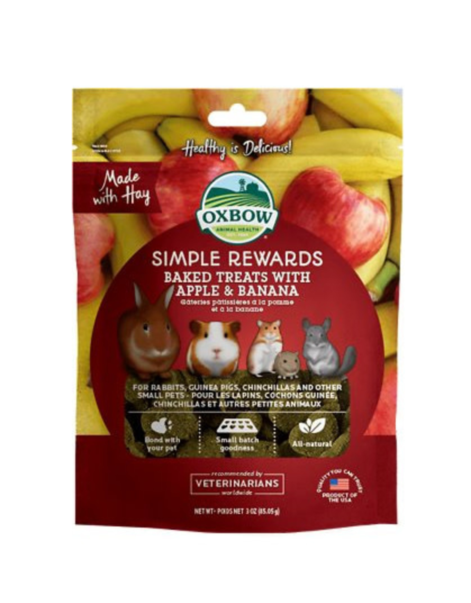 Oxbow Oxbow Simple Rewards Apple Banana