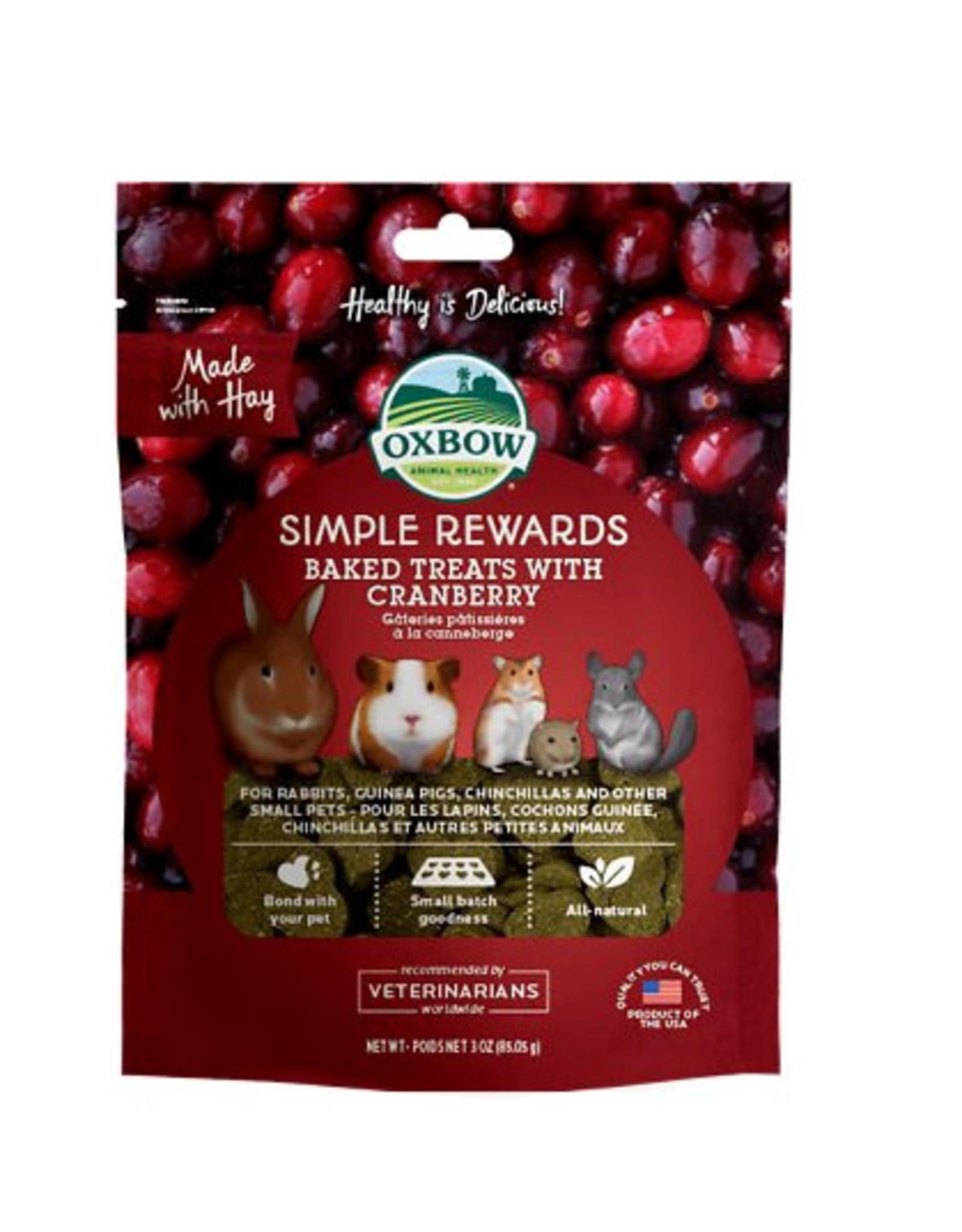 Oxbow Oxbow Simple Rewards Cranberry