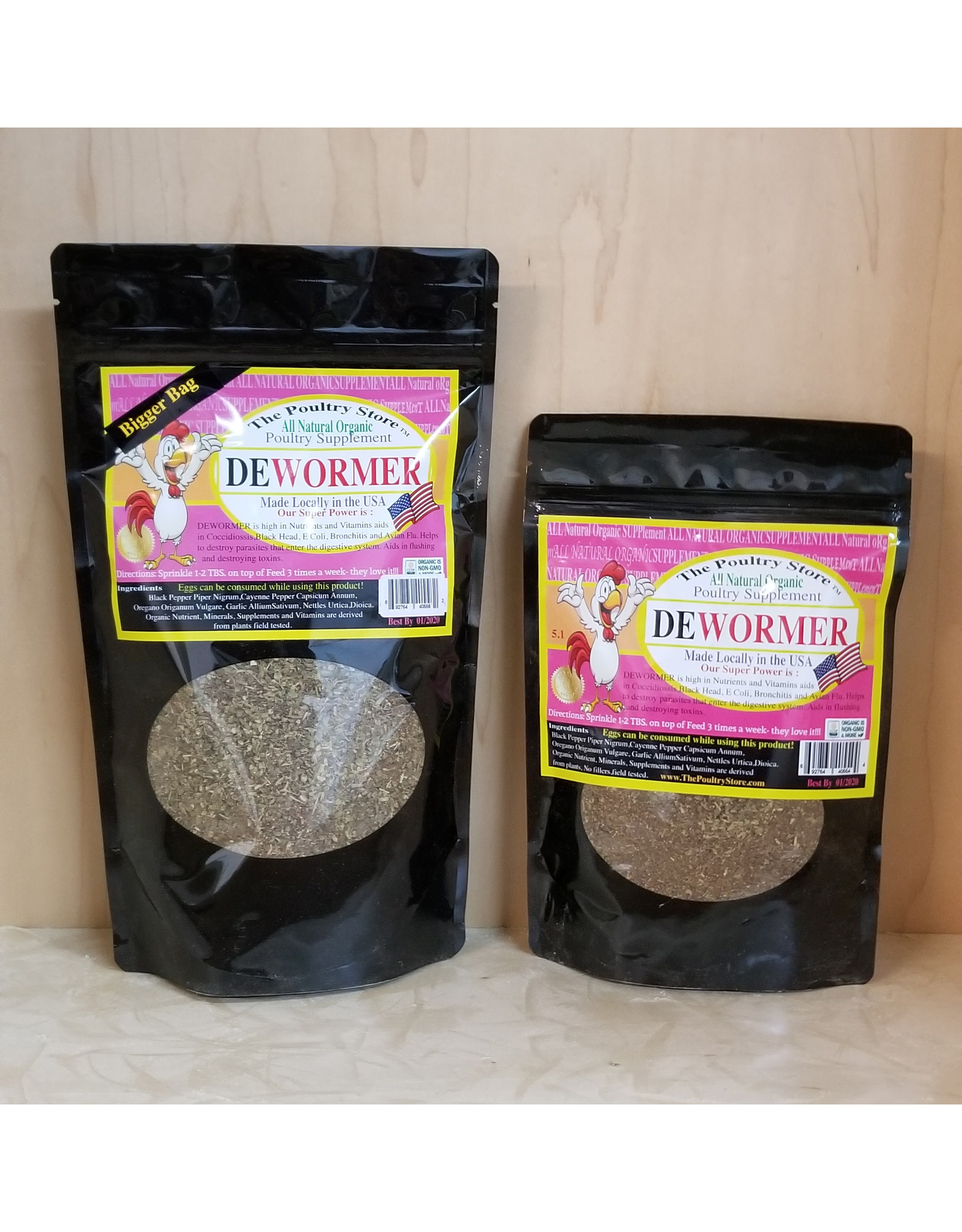 The Poultry Store Dewormer 5.1oz