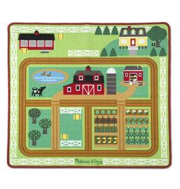 Melissa & Doug Farmyard Activity Rug