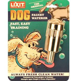 Lixit Lixit Dog Faucet Waterer Silver