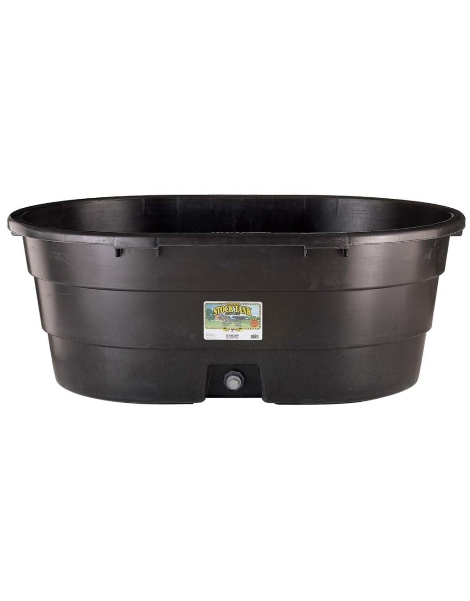 Little Giant Little Giant Poly Oval Stock Tank 75gal