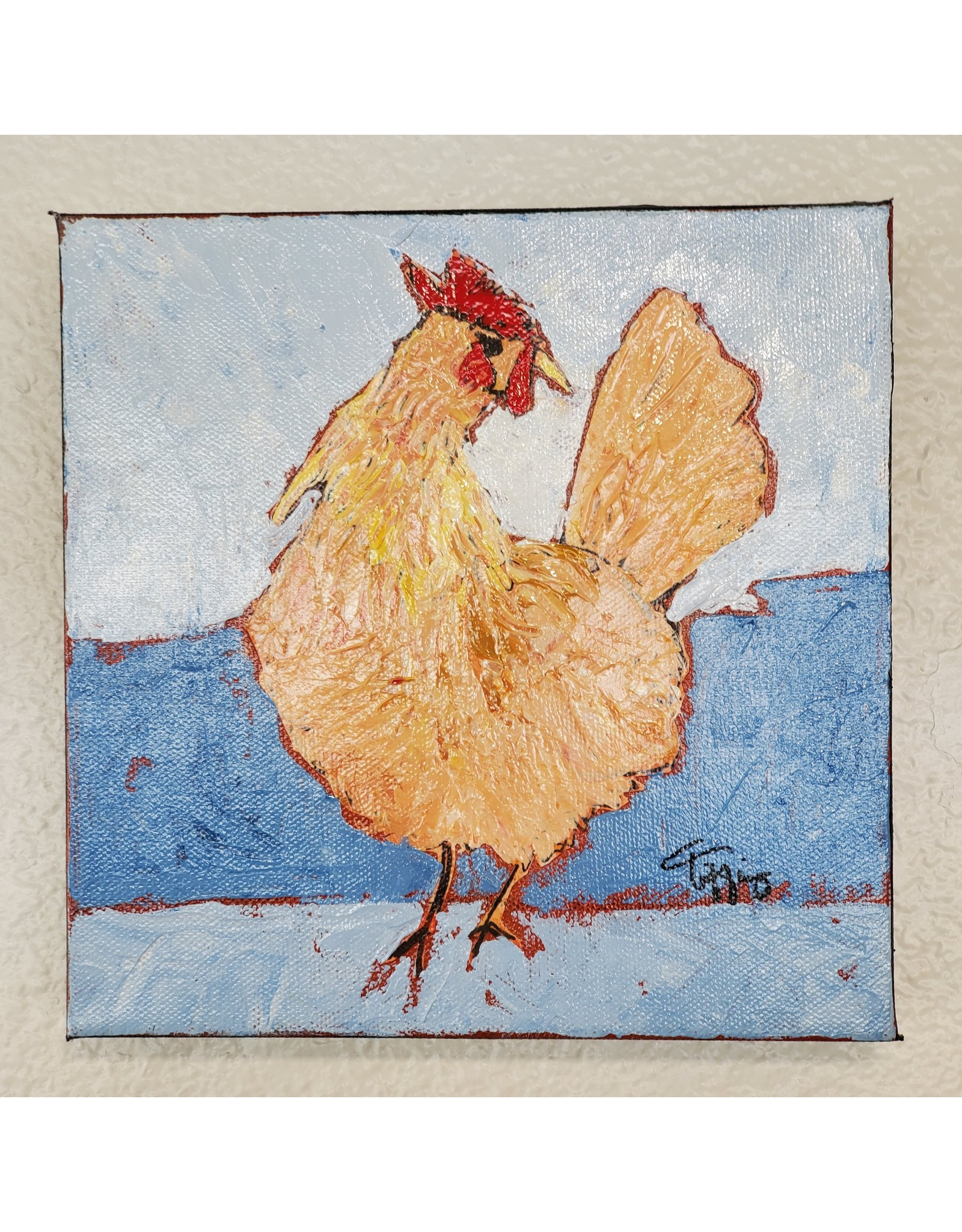 Inspire Farms Original Art - Rosy the Chicken  - Tiffiny Lilley