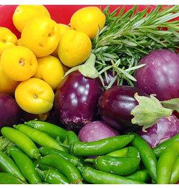 High Heels and Vegetable Peels Seasonal Veggie Box