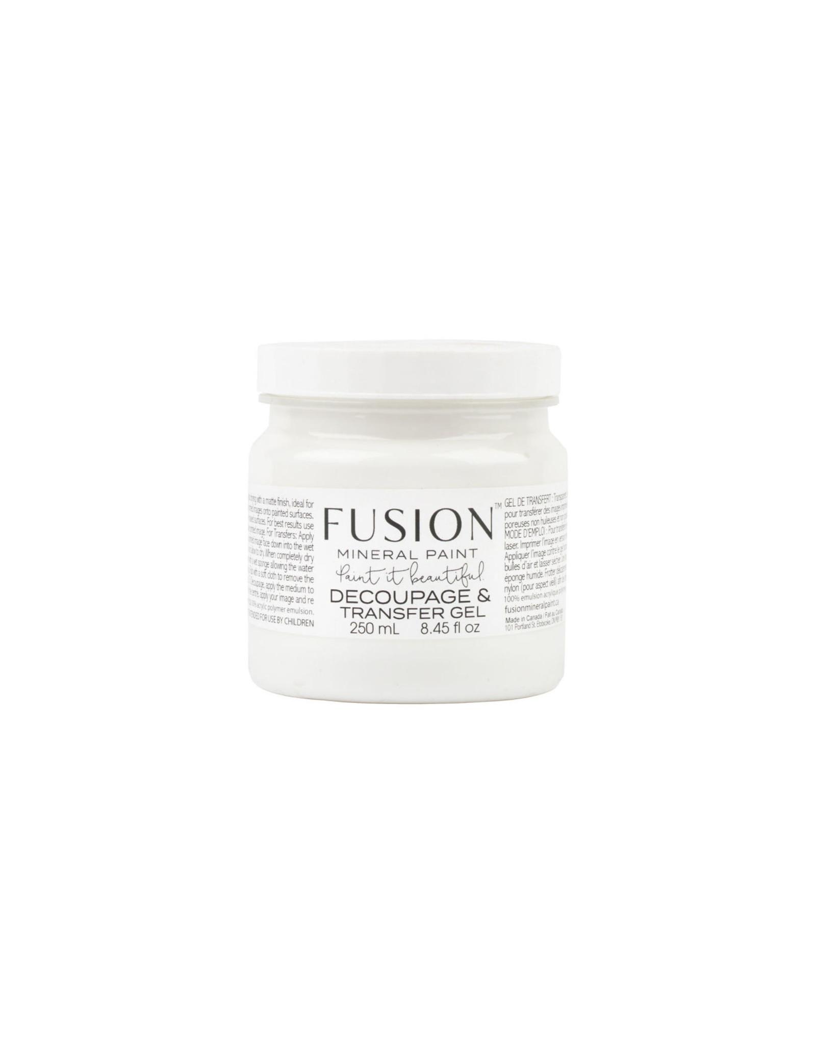Fusion Mineral Paint Decoupage & Transfer Gel 250ml