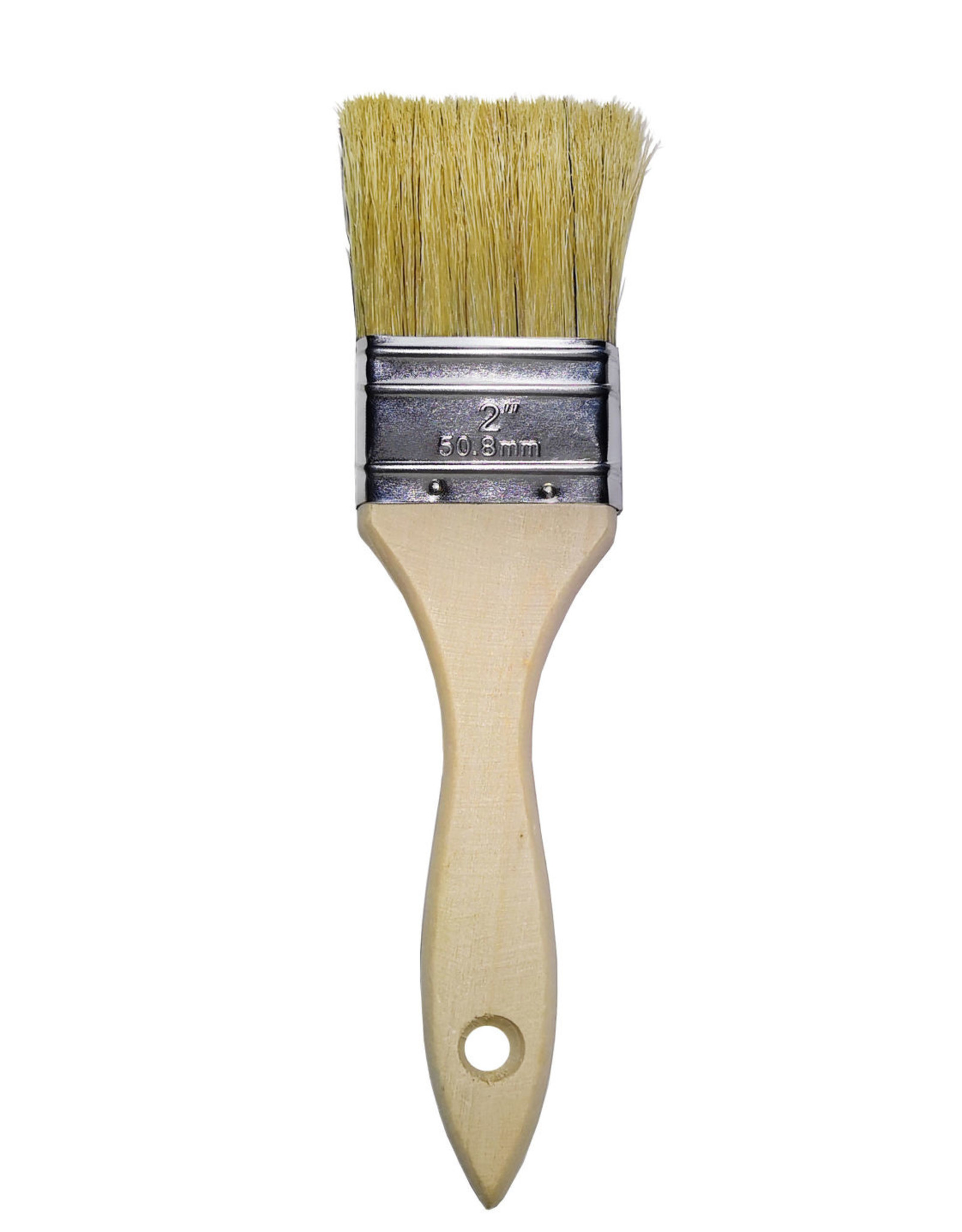 """2"""" Milk Paint Chip Brush Natural Bristle Double Thickness"""