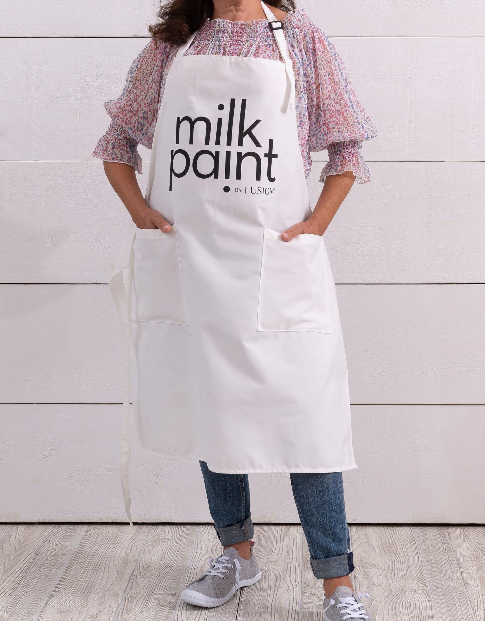 """""""Milk Paint"""" Apron"""