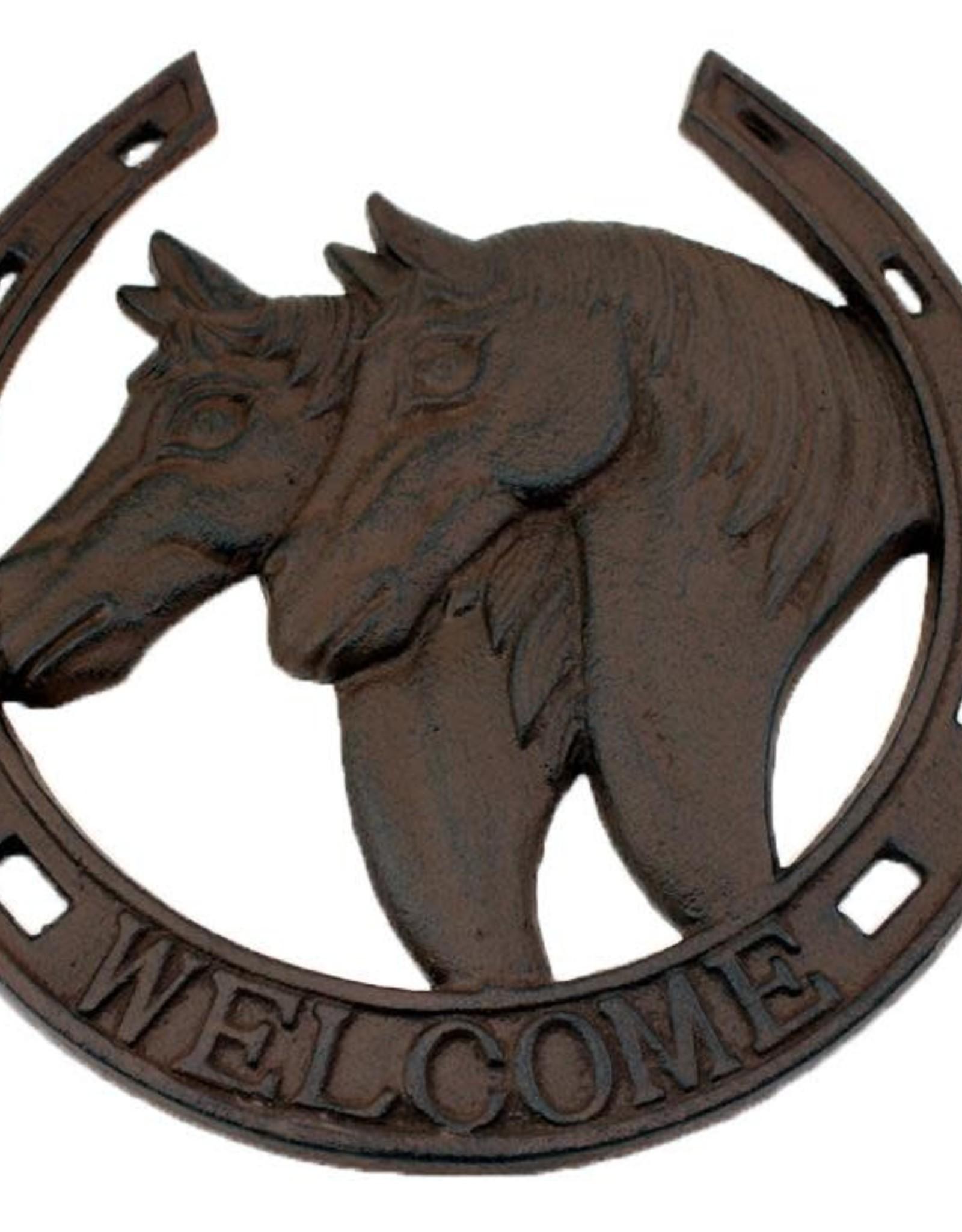 Horseshoe Plaque