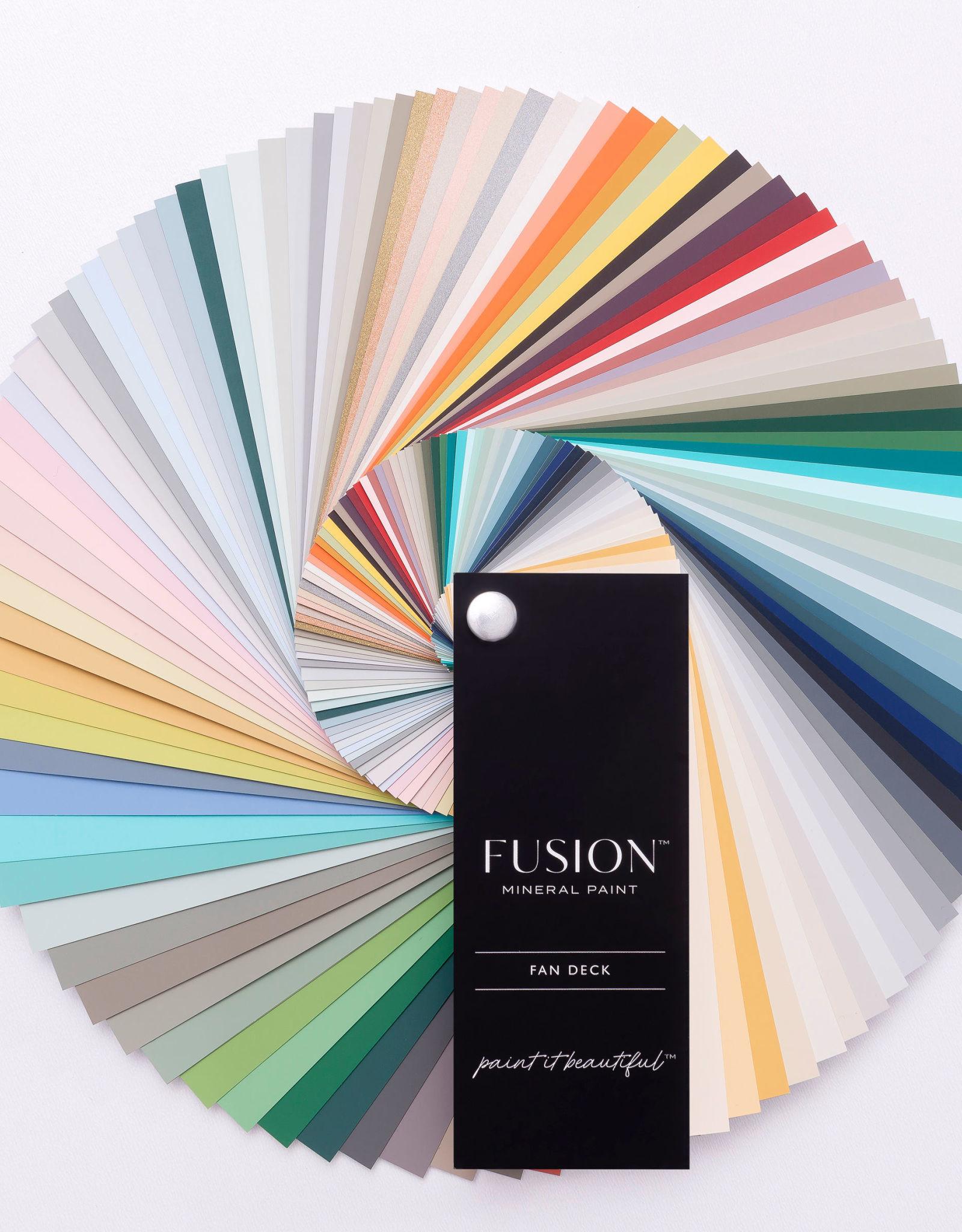 Fusion Mineral Paint Colour Card Fan Deck