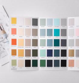 Fusion Mineral Paint Colour Card (true to colour)