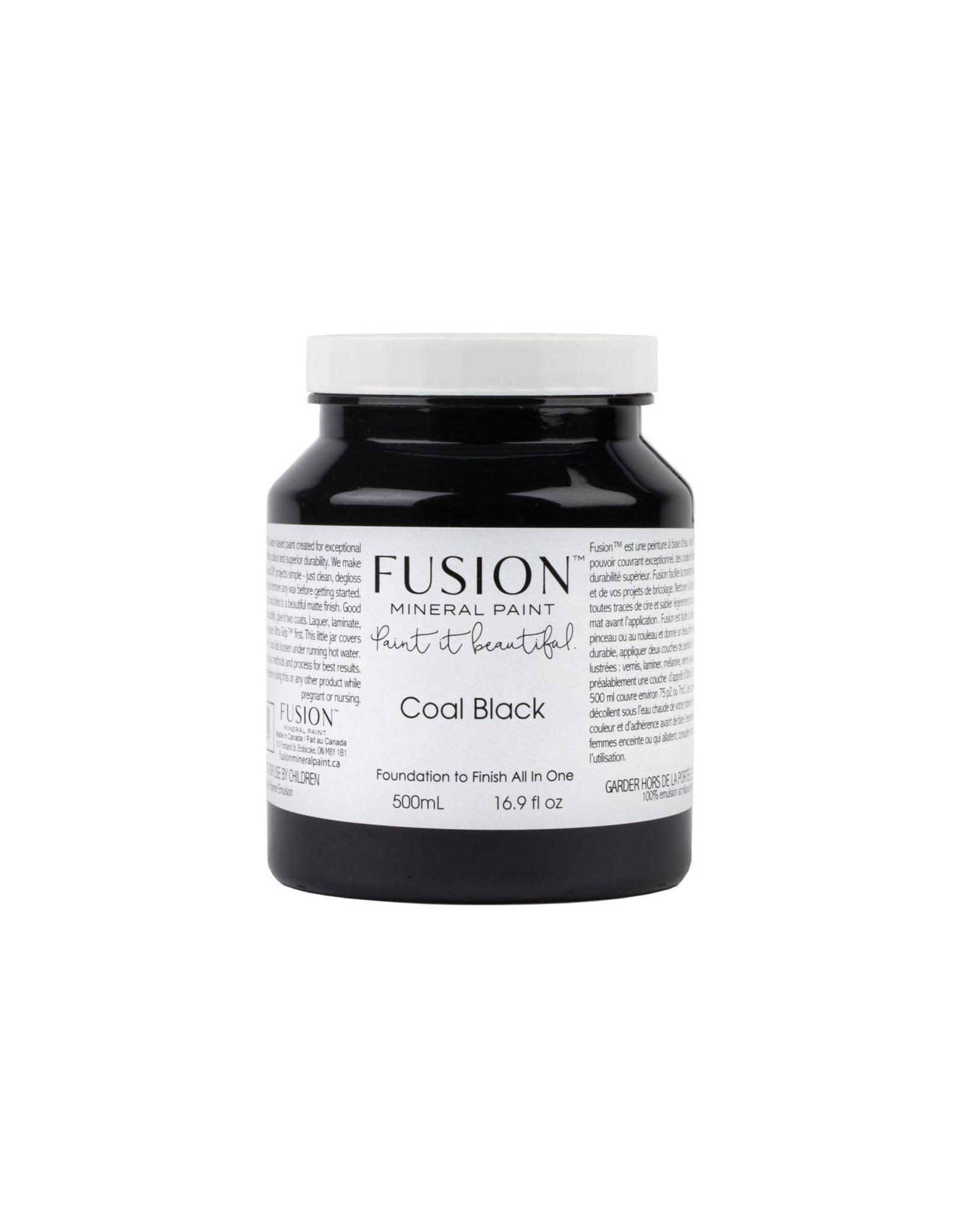 Fusion Mineral Paint Fusion Mineral Paint - Coal Black 500ml