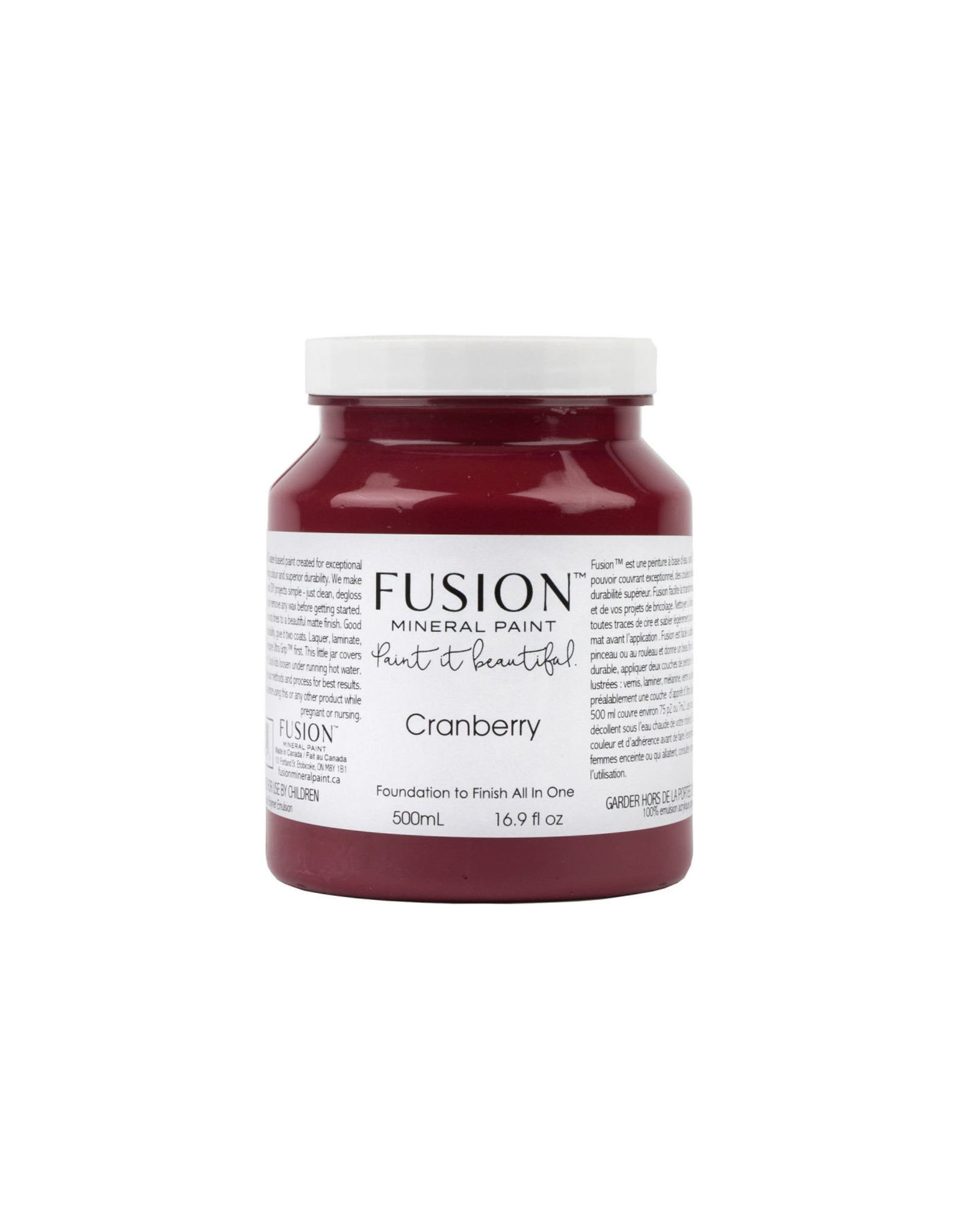 Fusion Mineral Paint Fusion Mineral Paint - Cranberry 500ml