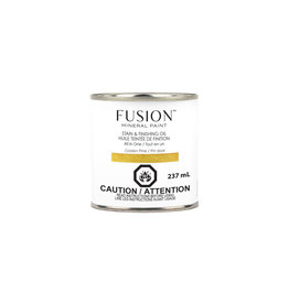 Fusion Mineral Paint Stain & Finishing Oil - Golden Pine