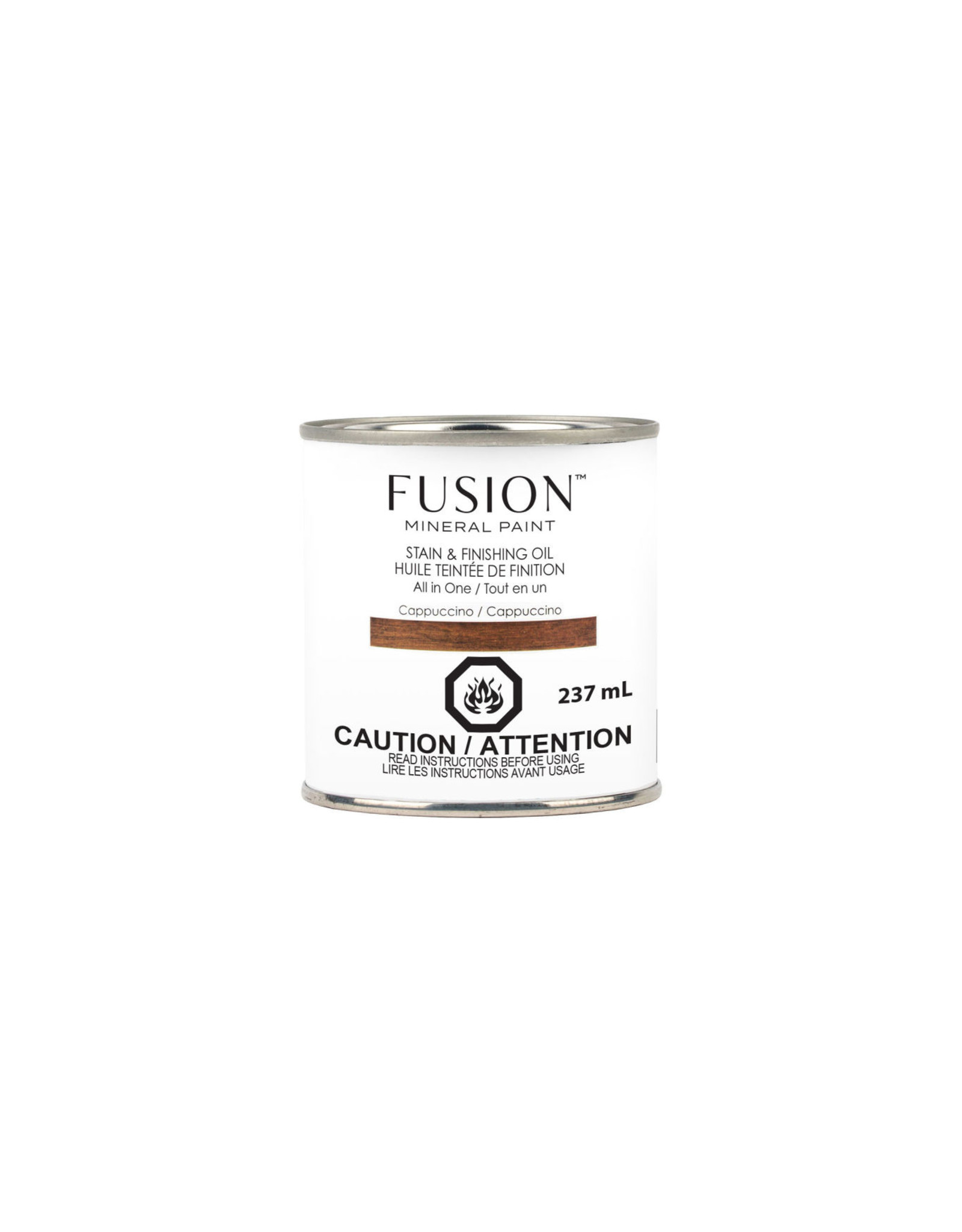 Fusion Mineral Paint Stain & Finishing Oil - Cappuccino
